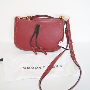 Marc Jacobs Russet Brown Maverick Crossbody Bag